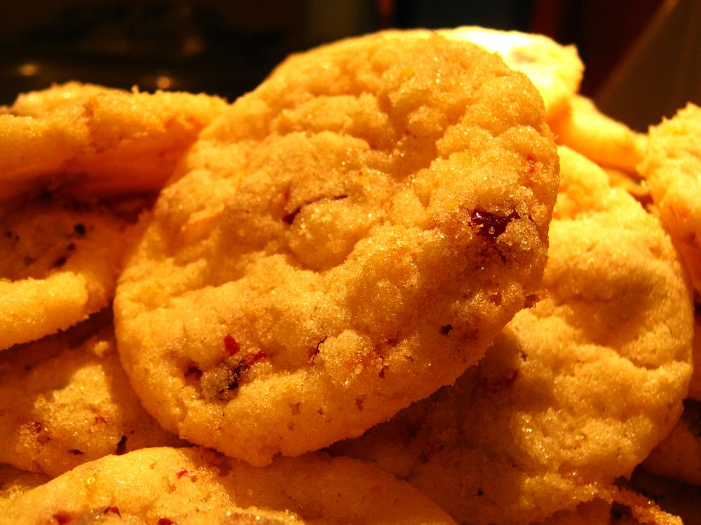 Cranberry Orange Cookies | Cassie's Cookies