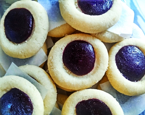 Blueberry Lavender Shortbread